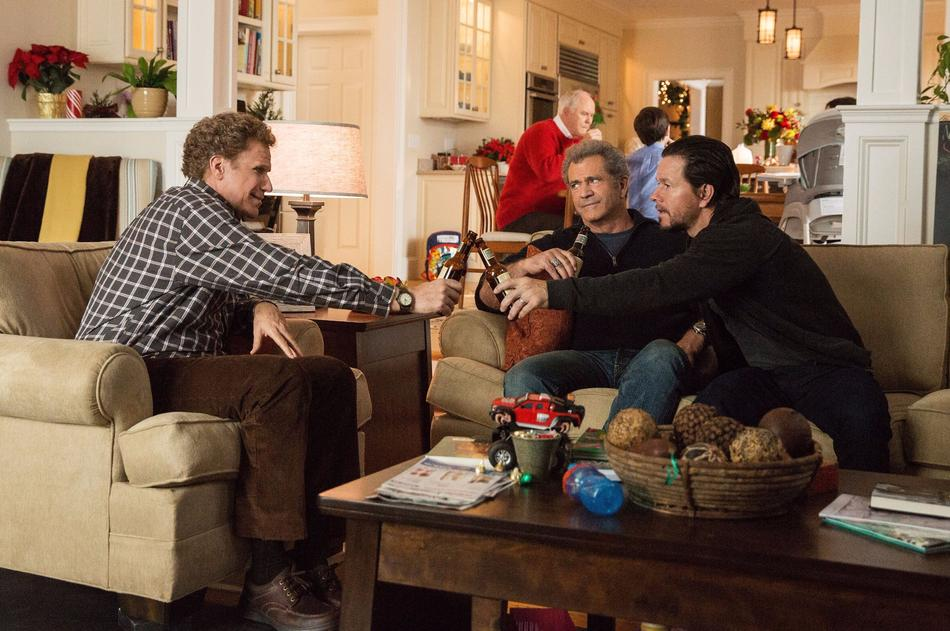 Will Ferrell, Mel Gibson and Mark Wahlberg in Daddy's Home 2